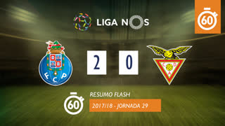 Liga NOS (29ªJ): Resumo Flash FC Porto 2-0 CD Aves