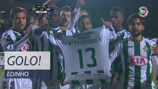GOLO! Vitória FC, Edinho aos 45', Vitória FC 1-0 Belenenses SAD