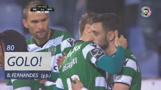 GOLO! Sporting CP, Bruno Fernandes aos 80', Os Belenenses 3-4 Sporting CP