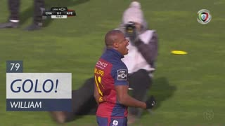 GOLO! GD Chaves, William aos 79', GD Chaves 1-1 CD Aves