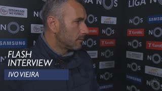 Liga (18ª): Flash interview Ivo Vieira