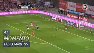 SC Braga, Jogada, Fábio Martins aos 41'