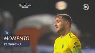 FC P.Ferreira, Jogada, Pedrinho aos 18'