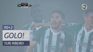 GOLO! Rio Ave FC, Yuri Ribeiro aos 90'+2', Rio Ave FC 2-0 Boavista FC