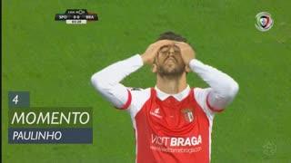 SC Braga, Jogada, Paulinho aos 4'