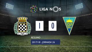Liga NOS (26ªJ): Resumo Boavista FC 1-0 Estoril Praia