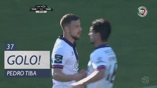 GOLO! GD Chaves, Pedro Tiba aos 37', GD Chaves 1-1 Marítimo M.