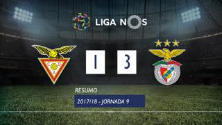 Liga NOS (9ªJ): Resumo CD Aves 1-3 SL Benfica