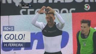 GOLO! Vitória SC, Hélder Ferreira aos 90'+5', Vitória SC 1-0 CD Feirense