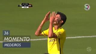 FC P.Ferreira, Jogada, Medeiros aos 36'