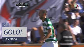 GOLO! Sporting CP, Bas Dost aos 23', Vitória SC 0-3 Sporting CP