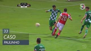 SC Braga, Caso, Paulinho aos 33'