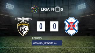 Liga NOS (16ªJ): Resumo Portimonense 0-0 Os Belenenses