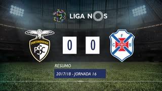 Liga NOS (16ªJ): Resumo Portimonense 0-0 Belenenses SAD