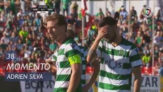 Sporting CP, Jogada, Adrien Silva aos 38'
