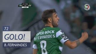 GOLO! Sporting CP, Bruno Fernandes aos 72', Sporting CP 2-0 CD Tondela