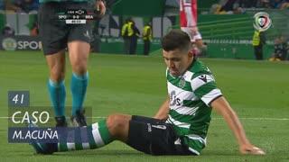 Sporting CP, Caso, M. Acuña aos 41'