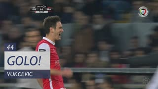 GOLO! SC Braga, Vukcevic aos 44', Vitória SC 0-3 SC Braga