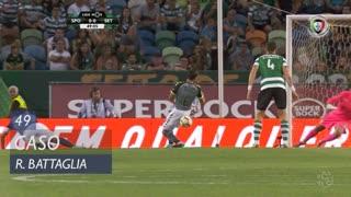 Sporting CP, Caso, Rodrigo Battaglia aos 49'