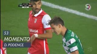 Sporting CP, Jogada, Daniel Podence aos 53'