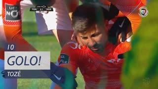 GOLO! Moreirense FC, Tozé aos 10', CD Tondela 0-1 Moreirense FC