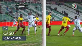 Vitória FC, Caso, João Amaral aos 69'