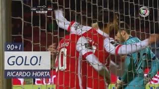 GOLO! SC Braga, Ricardo Horta aos 90'+1', GD Chaves 1-4 SC Braga