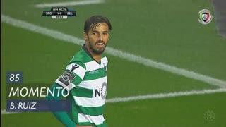 Sporting CP, Jogada, B. Ruiz aos 85'