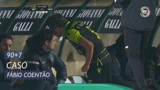 Sporting CP, Caso, Fábio Coentrão aos 90'+7'