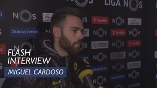 Liga (23ª): Flash interview Miguel Cardoso