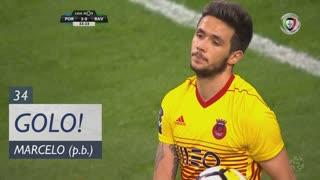 GOLO! FC Porto, Marcelo (p.b.) aos 34', FC Porto 3-0 Rio Ave FC