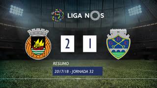 Liga NOS (32ªJ): Resumo Rio Ave FC 2-1 GD Chaves