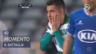 Sporting CP, Jogada, Rodrigo Battaglia aos 40'