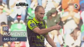 Sporting CP, Jogada, Bas Dost aos 50'