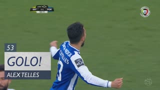 GOLO! FC Porto, Alex Telles aos 53', Estoril Praia 1-1 FC Porto