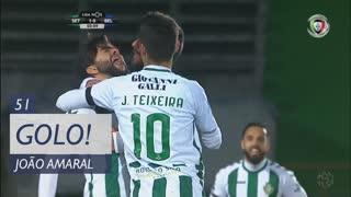 GOLO! Vitória FC, João Amaral aos 51', Vitória FC 2-0 Belenenses SAD