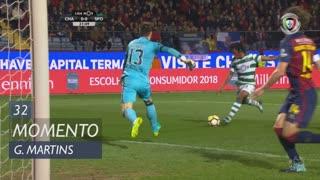 Sporting CP, Jogada, Gelson Martins aos 32'