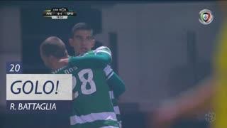 GOLO! Sporting CP, Rodrigo Battaglia aos 20', FC P.Ferreira 0-1 Sporting CP