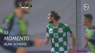 Moreirense FC, Jogada, Alan Schons aos 33'