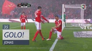 GOLO! SL Benfica, Jonas aos 35', SL Benfica 3-0 Marítimo M.