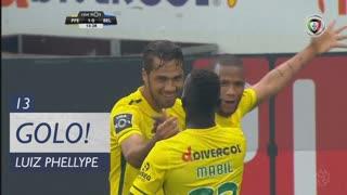 GOLO! FC P.Ferreira, Luiz Phellype aos 13', FC P.Ferreira 1-0 Belenenses SAD