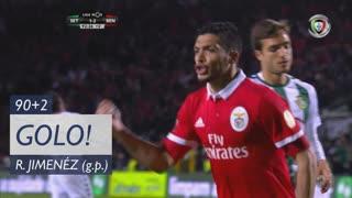 GOLO! SL Benfica, R. Jiménez aos 90'+2', Vitória FC 1-2 SL Benfica