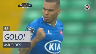 GOLO! Os Belenenses, Maurides aos 46', FC P.Ferreira 1-1 Os Belenenses