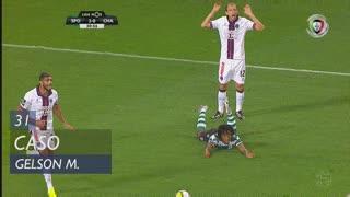 Sporting CP, Caso, Gelson Martins aos 31'