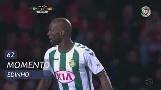 Vitória FC, Jogada, Edinho aos 62'