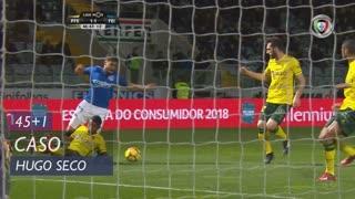 CD Feirense, Caso, Hugo Seco aos 45'+1'