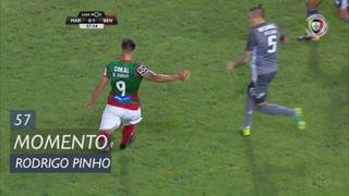 Marítimo M., Jogada, Rodrigo Pinho aos 58'