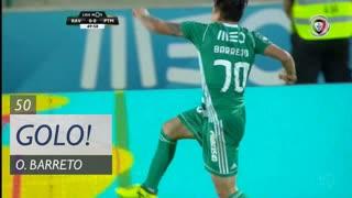 GOLO! Rio Ave FC, O. Barreto aos 50', Rio Ave FC 1-0 Portimonense