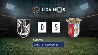 Liga NOS (23ªJ): Resumo Vitória SC 0-5 SC Braga