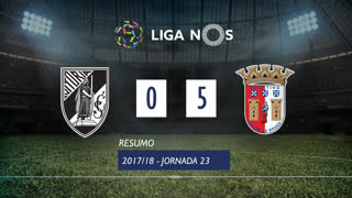 I Liga (23ªJ): Resumo Vitória SC 0-5 SC Braga